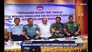Tanggapi Prabowo, Menhan: Indonesia Mampu Berperang Seribu Tahun - iNews Pagi 20/01