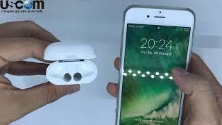 Mở hộp quay tay tai nghe không dây Apple AirPods