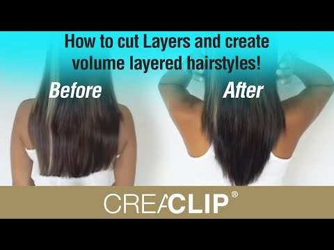 How to cut layers and create volume layered hairstyles youtube how to cut layers and create volume layered hairstyles solutioingenieria Image collections