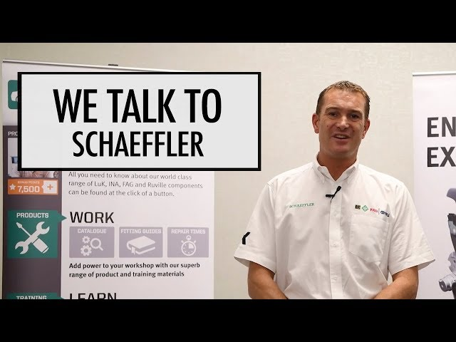 We talk to Schaeffler