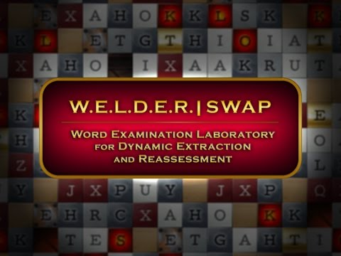 W.E.L.D.E.R. SWAP – A Word Puzzle Game by Touch Press Games