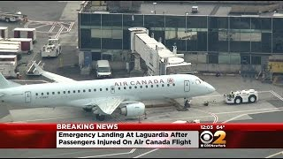 Port Authority: Passengers Injured Aboard Air Canada Plane At LaGuardia Airport