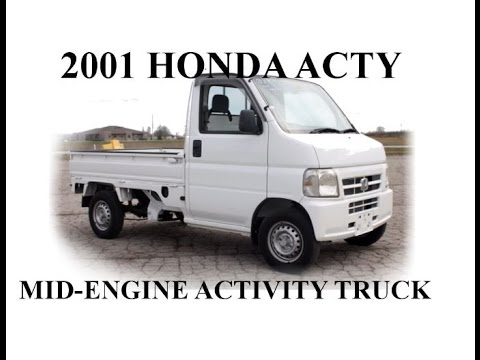 2001 Honda Acty truck tour and review