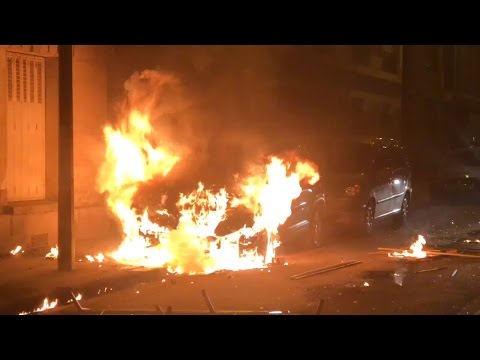 Riots in Paris AGAIN 3/27/2017