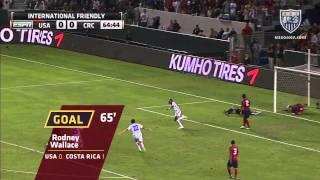 MNT vs. Costa Rica: Highlights - Sept. 2, 2011