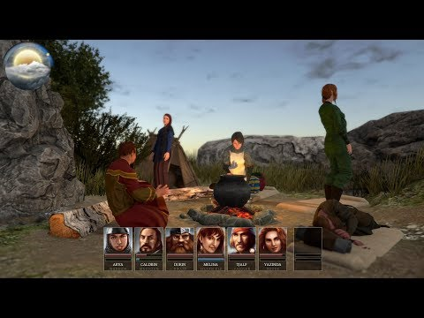 Realms of Arkania Star Trail Gameplay (PC)