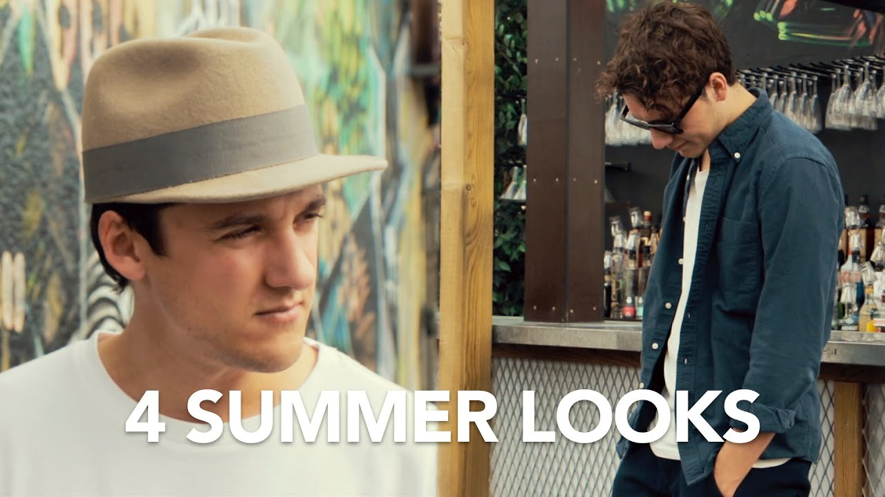 4 SUMMER LOOKS | TheLineUp Menswear