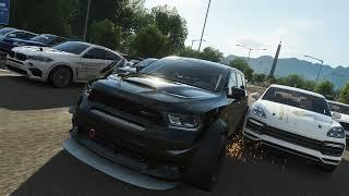 Forza Horizon 4 - DODGE DURANGO SRT 2018г- дрэг-стрип-дрэг \
