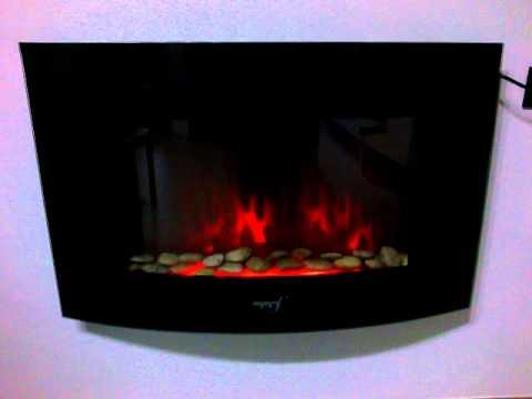 Caminetto Elettrico Wallflame - YouTube