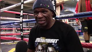 Floyd Mayweather Sr. speak some words of wisdom in this interview from not too distant days.