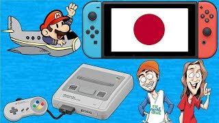 Osaka Japan Video Game Hunting & Skateboarding! FUgameCrue Does Japan 2018 Part 1