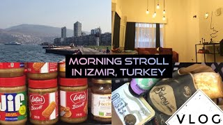Gambar cover VLOG | Turkish Airbnb, grocery shopping, morning seaside walk