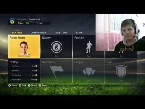 FIFA 15 ULTIMATE TEAM ep.1 / slaganje pocetne momcadi / GamesProDK