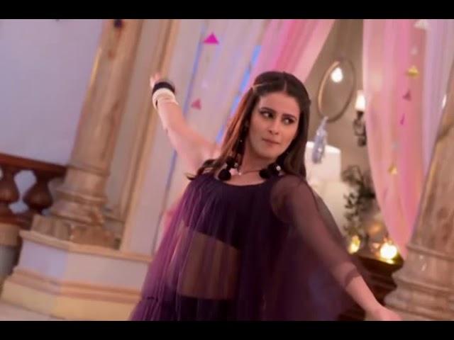Tv Actress Shivani Tomar Navel Show in Transparent Dress