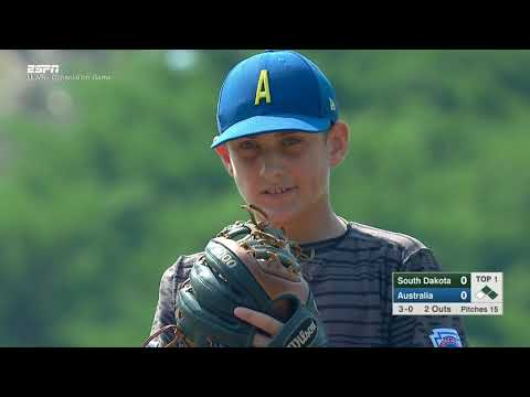 LLWS17 - CONSOLATION B - Sioux Falls South Dakota vs Sydney Australia - #ilovewilliamsport