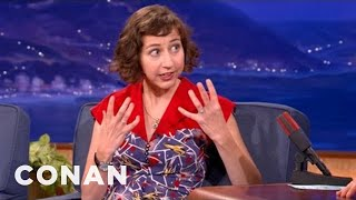 Kristen Schaal Has Very Intense Crushes - CONAN on TBS