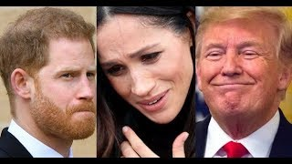 TRUMP TELLS PRINCE HARRY, MEGHAN MARKLE 'THEY MUST PAY' FOR SECURITY Amid Move to US