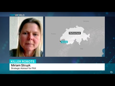 Interview with strategic advisor Miriam Struyk on the use of autonomous weapons