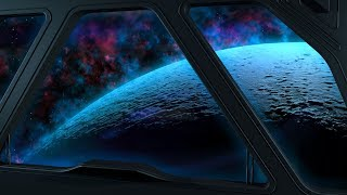 space White Noise for Sleep or Studying  10 Hours Ambient Relaxation Sound