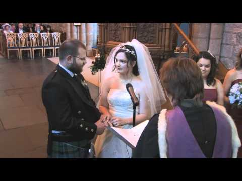 Dornoch Cathedral Wedding Video Demo