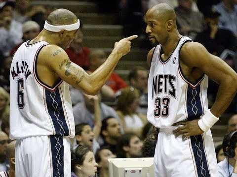 new concept c03c1 37101 Kenyon Martin, Alonzo Mourning Nets fight?