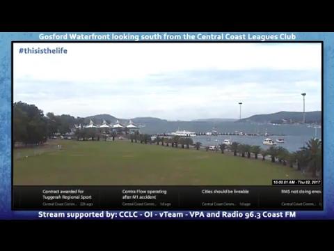 Gosford Waterfront 2017 Live Stream