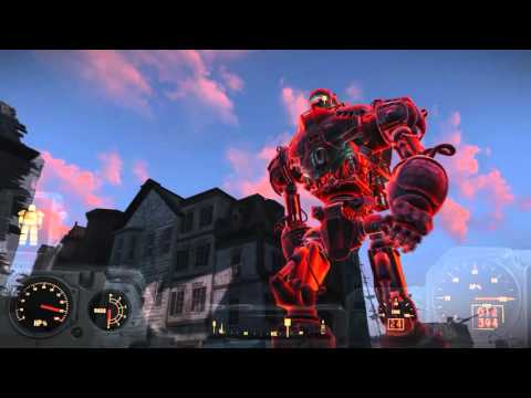 Fallout 4 Walkthrough - Liberty Prime Attack on Istitute