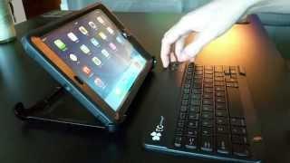 EC Technology Ultra Slim Bluetooth Keyboard