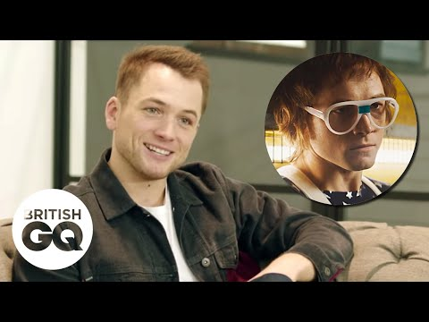 "Taron Egerton: ""Meeting Elton John for the first time was intimidating""| British GQ"