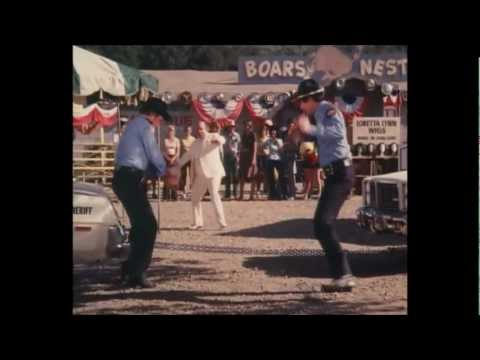 Dukes of Hazzard-Enos and Rosco moments from episode Find Loretta Lynn