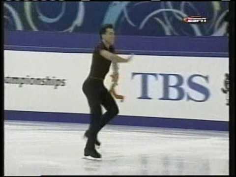 Michael Weiss (USA) - 2002 World Figure Skating Championships, Men