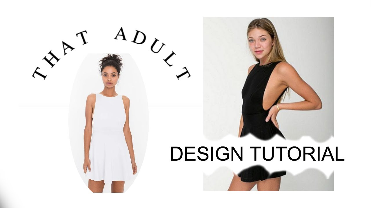 DIY American Apparel Inspired Ponte Skater Dress (Sewing