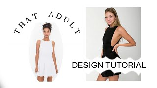 Diy American Apparel Inspired Ponte Skater Dress (sewing)