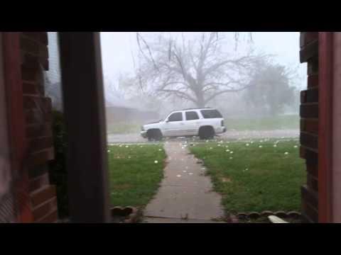 Holy Hail!!! Storm Wylie TX