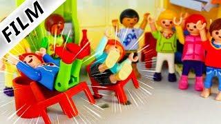 Playmobil Film deutsch   CHALLENGE IN DER SCHULE Wer kann besser KIPPELN?! Kinderserie Familie Vogel