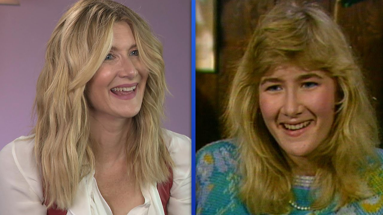 Laura Dern REACTS to First ET Interview from 1986 (Exclusive)