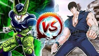 cell vs kenshiro cellgames   teamfourstar dublado pt br