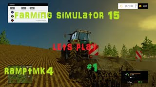 Farming Simulator 15 (Xbox 360) lets play # 1 Its go time