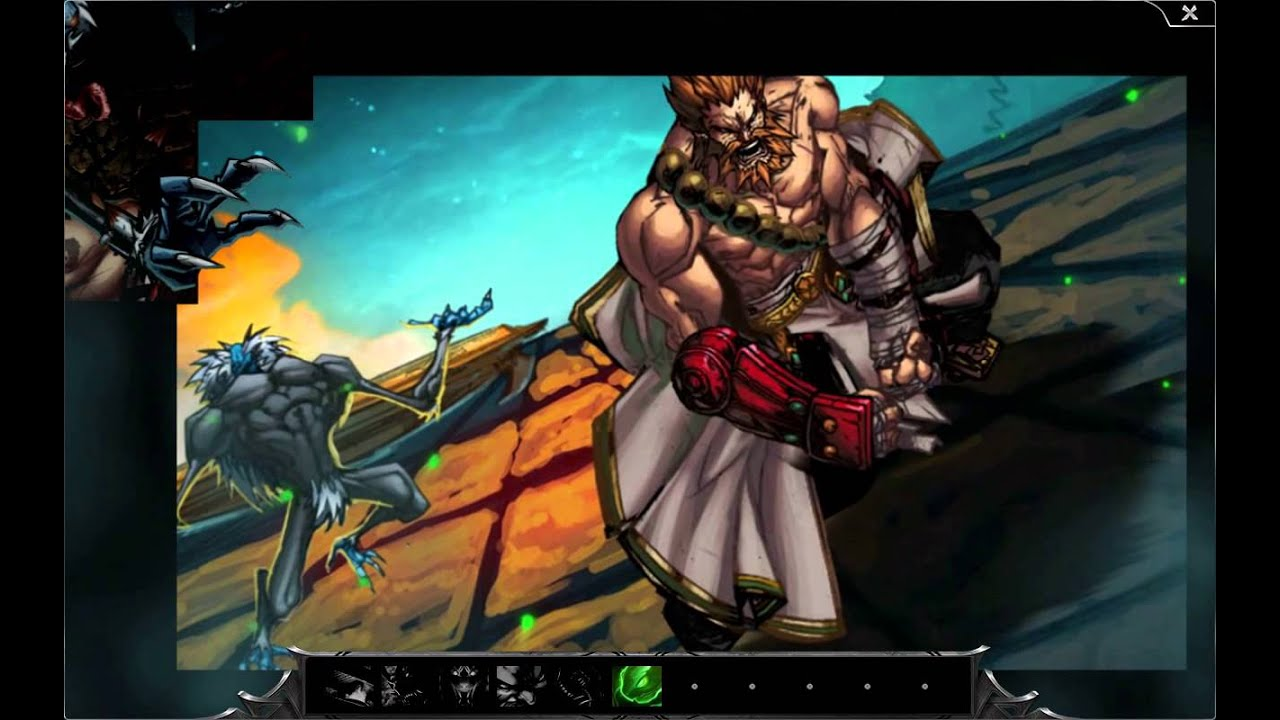 Spirit Guard Udyr Interactive Comic - YouTube