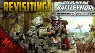 REVISITING - Star Wars Battlefront - Renegade Squadron Gameplay