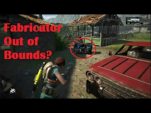 Fabricator out of map? - Gears 4 expanding the glitches to a new level