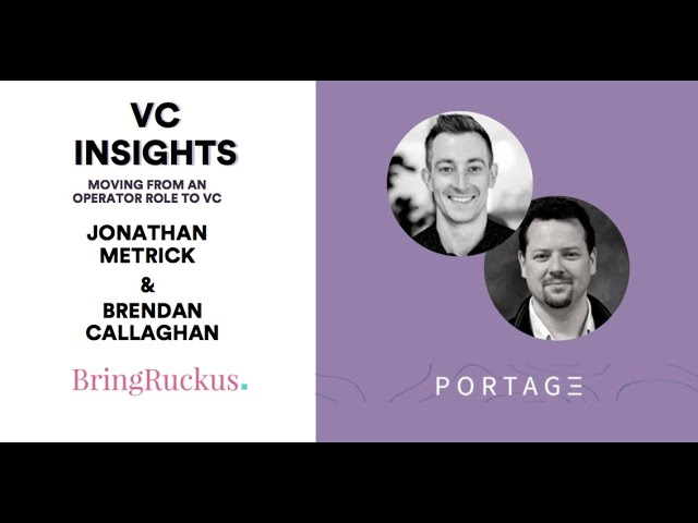 VC Insights: Portage Ventures