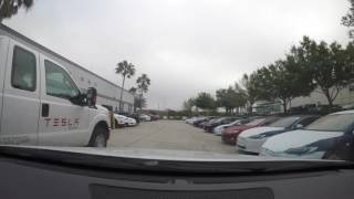 Tesla Model S Delivery Day - Glass Roof and AP 2.0