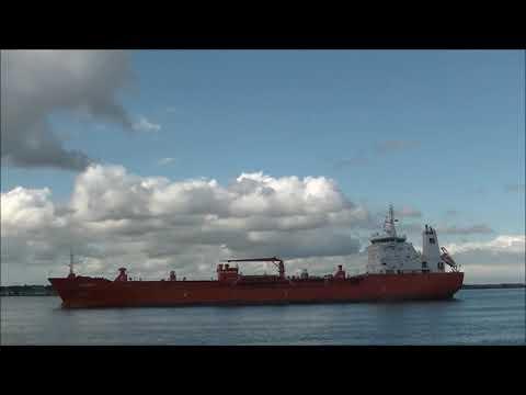 Shipspotting in Dublin - July '20.