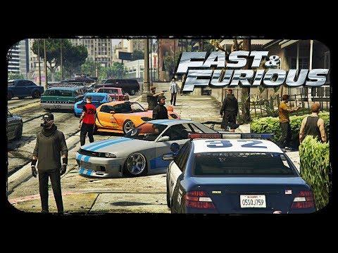 GTA 5 | Paul Walker Tribute - Crew TheLowlyGentlemen