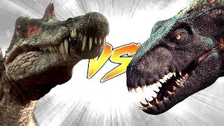 SPINOSAURUS VS INDORAPTOR [Who Would Win?]