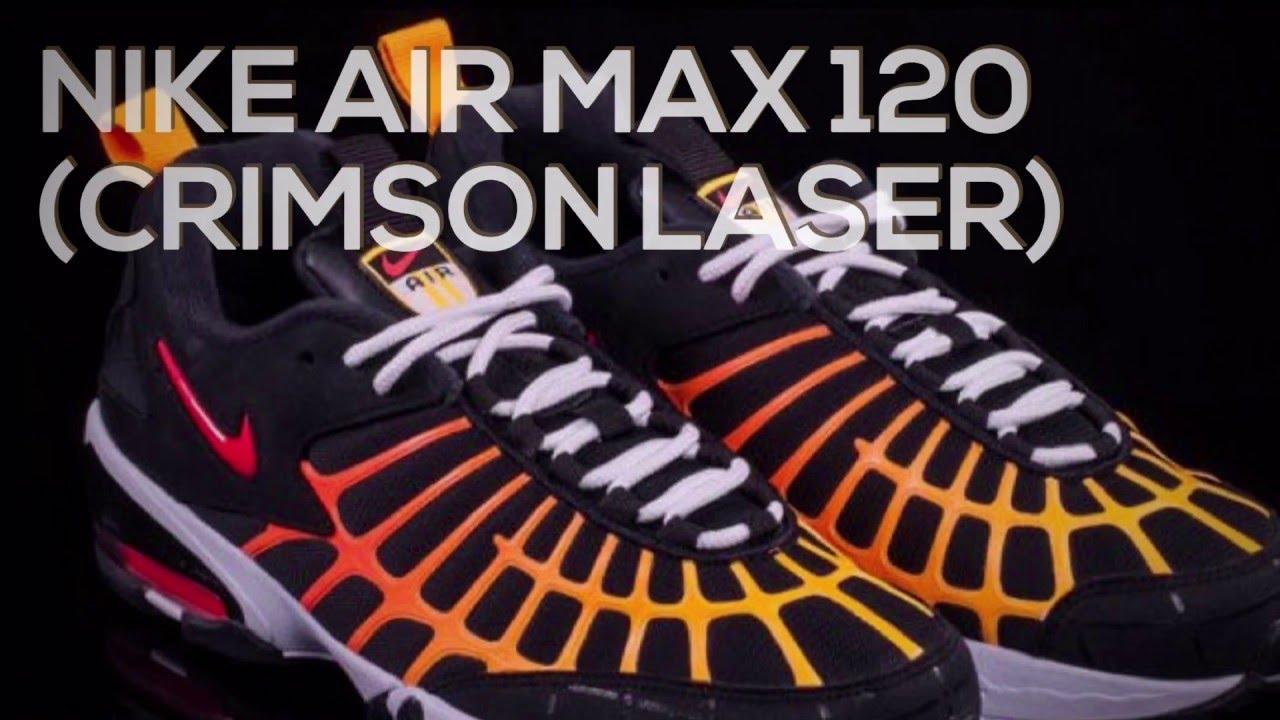 buy online 01514 78d39 NIKE AIR MAX 120 (CRIMSON LASER)/ SNEAKERS T