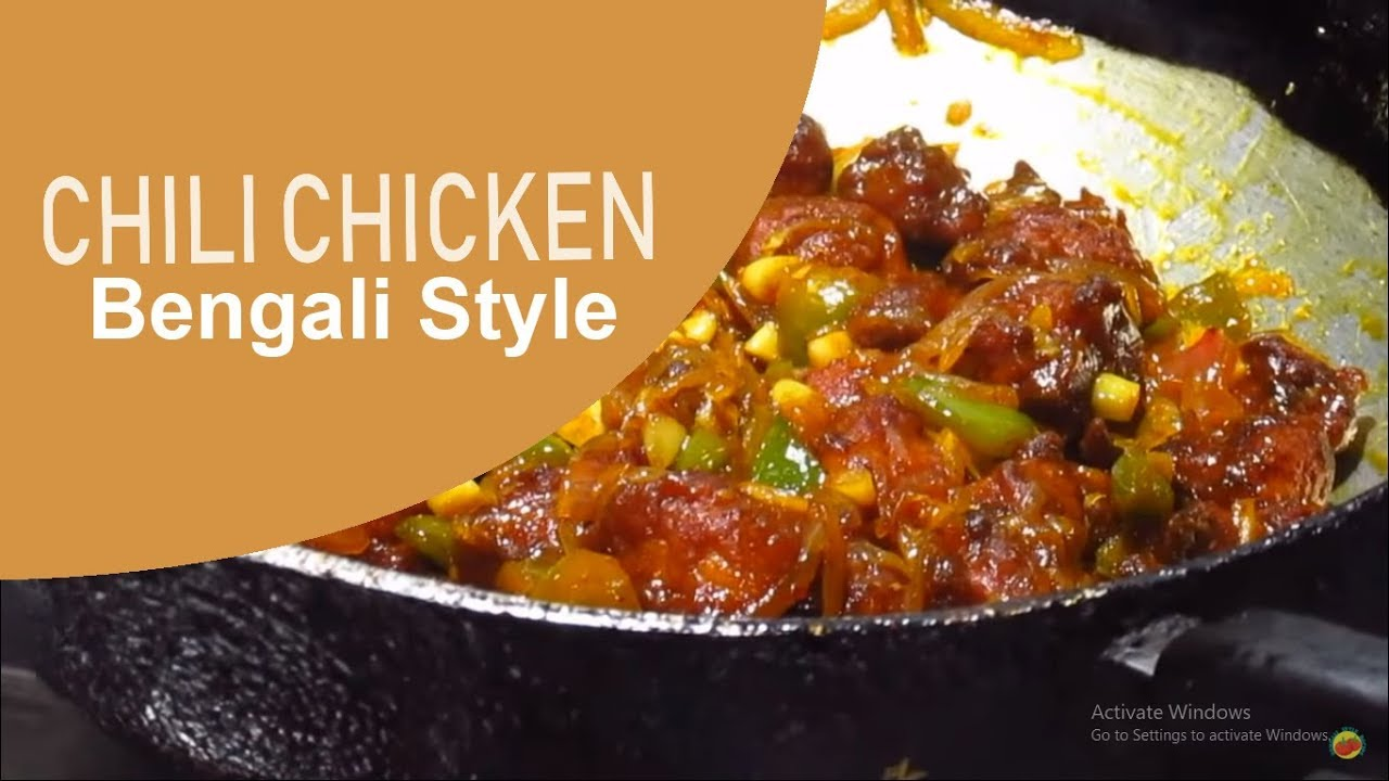 Chilli chicken recipe bengali style youtube forumfinder Image collections