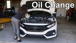 How To Do An Oil Change (COMPLETE Guide) | 10th Gen Honda Civic