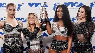 Fifth Harmony Fights Back Tears After First 2017 MTV VMA Win Without Camila